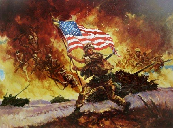Desert Storm Ancestors by Col Charles H. Waterhouse USMC (Ret.)