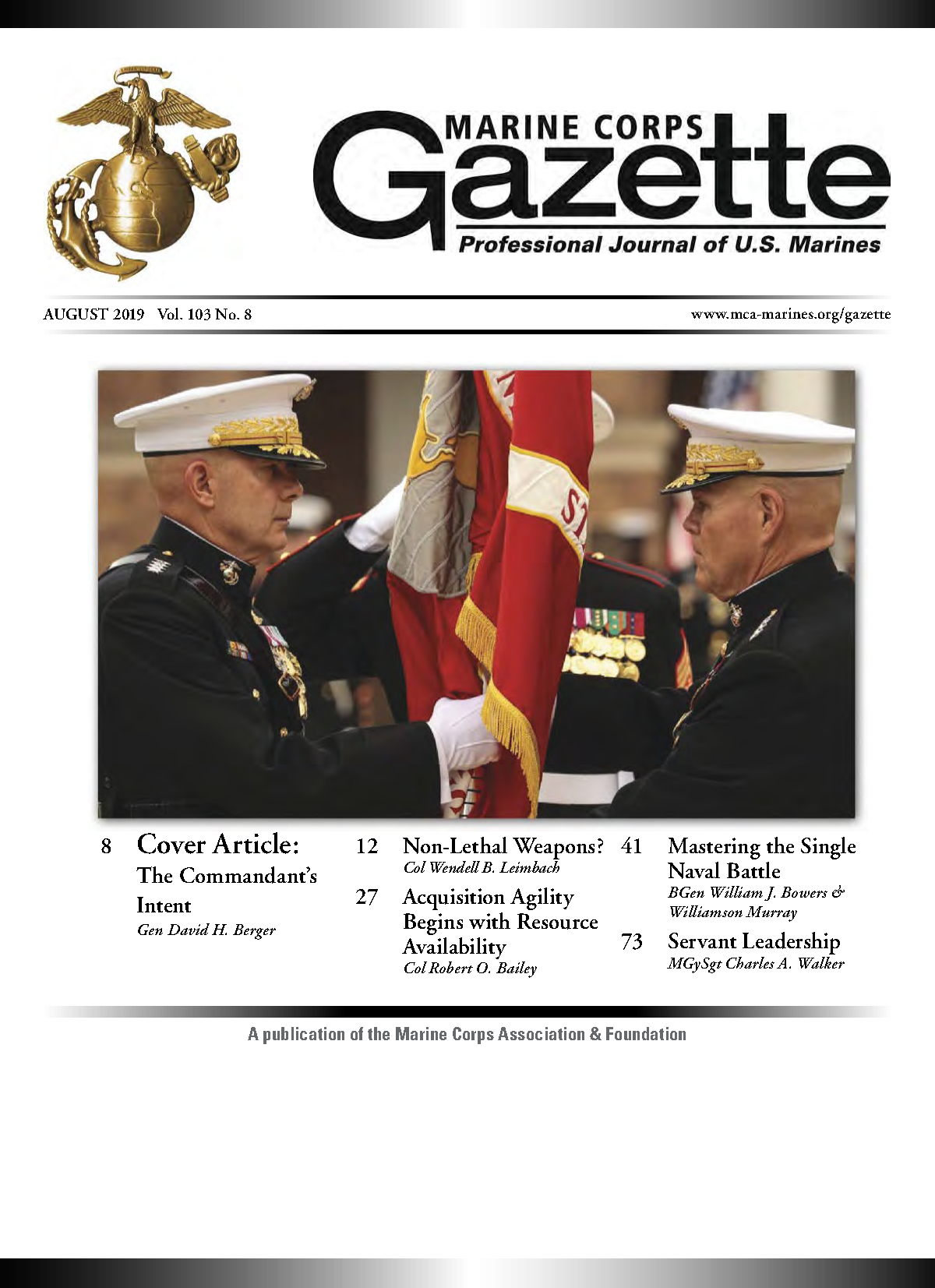 Marine Corps Gazette - MCA