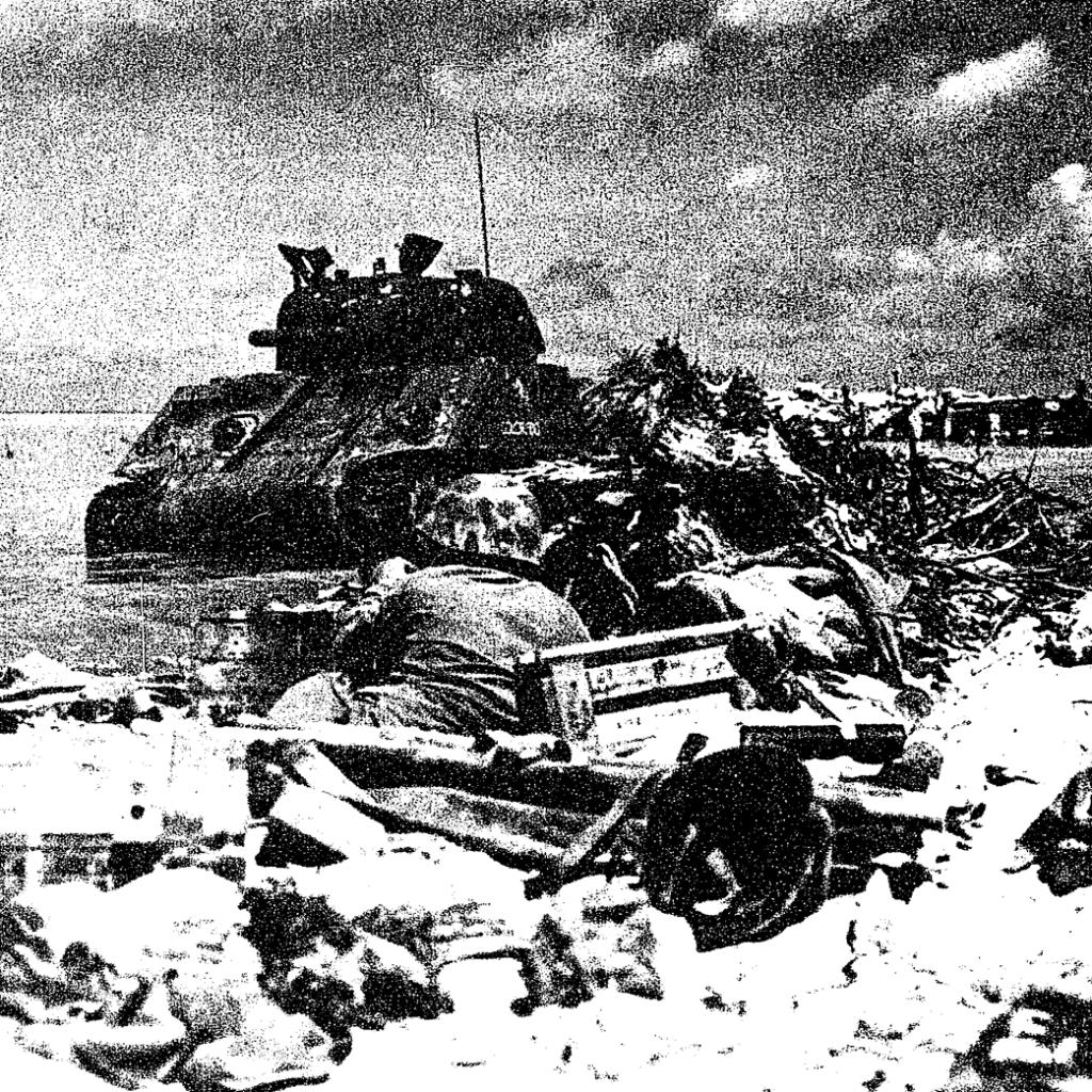 Baptism by Fire: Sherman Tanks at Tarawa